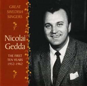 Nicolai Gedda: The First Ten Years 1952-1962