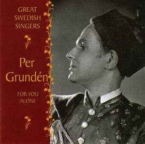 Great Swedish Singers: Per Grunden