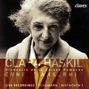 Clara Haskil Live Recordings - Schumann & Beethoven Product Image