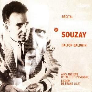 Gerard Souzay: Recital