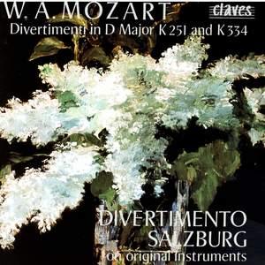 Mozart: Divertimentos & March in D Major