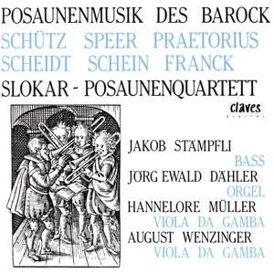 German Baroque Trombone Music