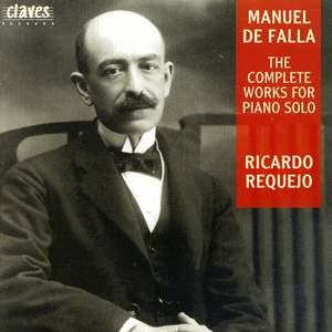 De Falla: Complete works for Piano
