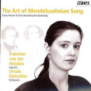 The Art of Mendellssohnian Song