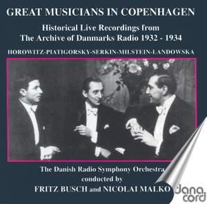 Great Musicians in Copenhagen Product Image
