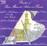 Rarities of Piano Music at the Husum Festival 1992