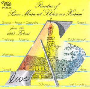 Rarities of Piano Music at the Husum Festival 1993 Product Image
