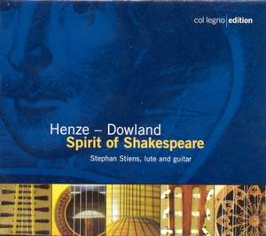 Henze - Dowland: Spirit of Shakespeare