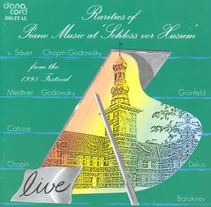 Rarities of Piano Music at the Husum Festival 1998