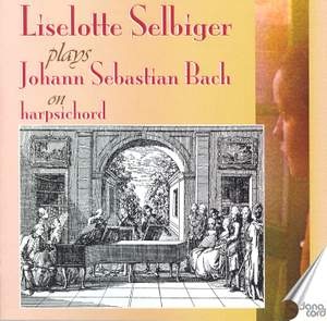 Liselotte Selbiger plays J S Bach on Harpsichord