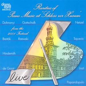 Rarities of Piano Music at the Husum Festival 2001