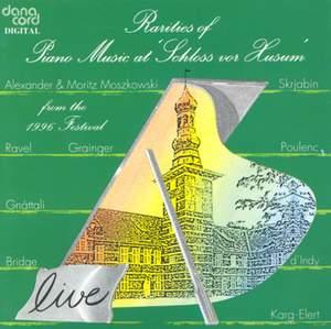 Rarities of Piano Music at the Husum Festival 1996