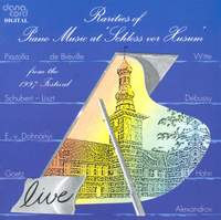 Rarities of Piano Music at the Husum Festival 1997
