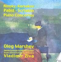 Three Russian Piano Concertos by Pabst, Rimsky Korsakov and Scriabin