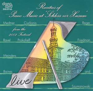 Rarities of Piano Music at the Husum Festival 2002