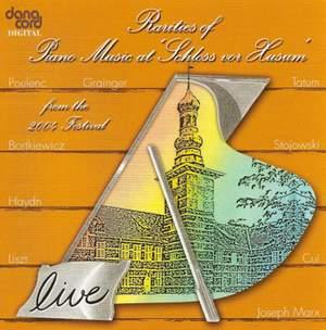 Rarities of Piano Music at the Husum Festival 2004