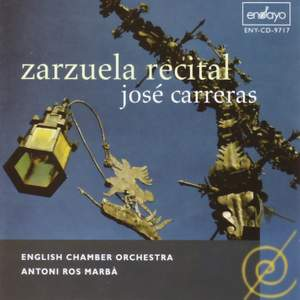 Carreras, Jose: Zarzuela Recital