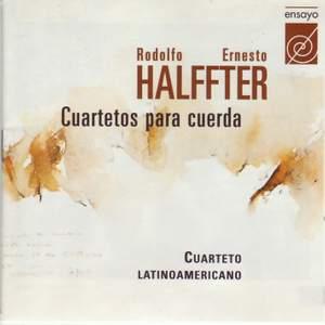 Halffter, Rodolfo/Ernesto: Cuartetos para Cuerda