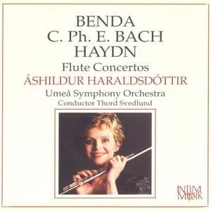 Benda, CPE Bach & Haydn: Flute Concertos