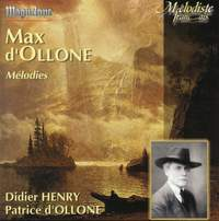 D'Ollone, Max: Melodies