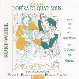 Weill, Kurt: Songs from the Three-Penny Opera