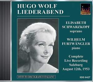 Wolf: Liederabend
