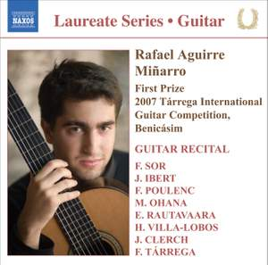 Guitar Recital: Rafael Aguirre Miñarro