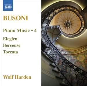 Busoni - Piano Music Volume 4