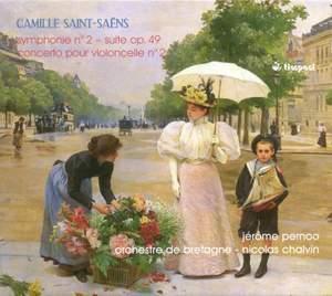 Saint-Saens: Symphony No. 2 / Cello Concerto No. 2