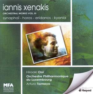 Xenakis: Orchestral Works Vol. 3
