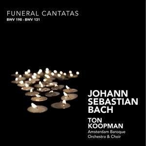 J S Bach - Funeral Cantatas Product Image