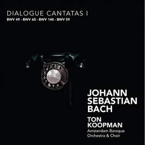 J S Bach - Dialogue Cantatas l Product Image