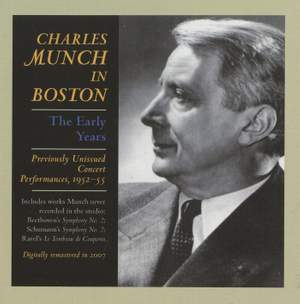 Charles Munch In Boston