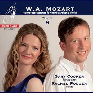 Mozart - Complete Sonatas for Keyboard & Violin, Volume 6