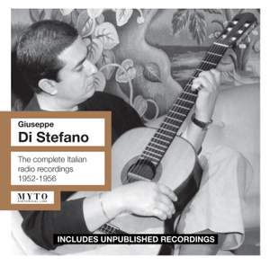 Giuseppe di Stefano - Complete Italian Radio recordings 1952-56