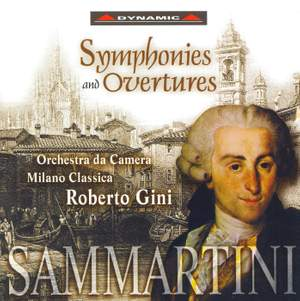 Sammartini: Symphonies and Overtures Product Image