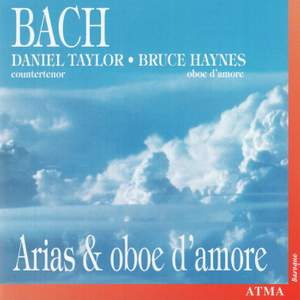 Bach: Arias for countertenor & oboe d'amore