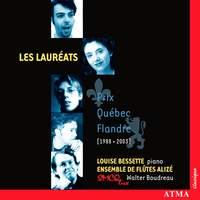 Les lauréats - Prix Québec-Flandre [1988-2003]