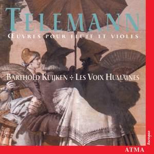 Telemann: Oeuvres Pour Flute Et Violes Product Image