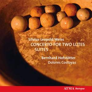 Silvius Leopold Weiss: Concerto for Two Lutes & Suites for Lute