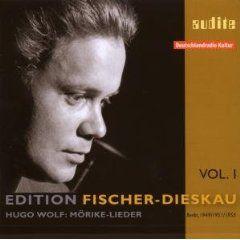 Edition Fischer-Dieskau Vol. 1 - Wolf's Morike-Lieder