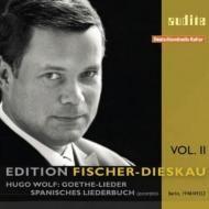 Edition Fischer-Dieskau Vol. 2 - Wolf's Goethe-Lieder