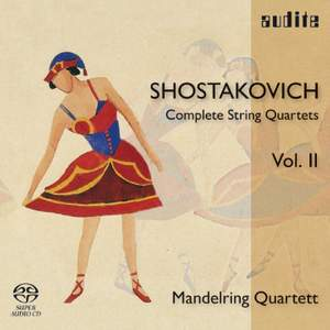 Shostakovich: Complete String Quartets Volume 2 Product Image