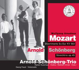 Mozart & Schoenberg: Piano Trios Product Image