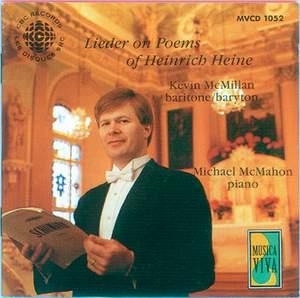 Lieder on Poems of Heinrich Heine