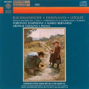 Rachmaninov Piano Concerto No. 1 etc