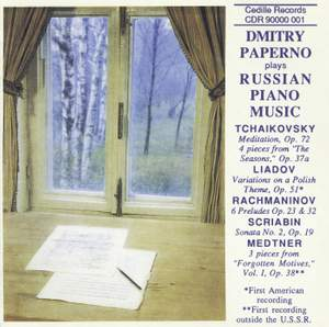 Russian Piano Music