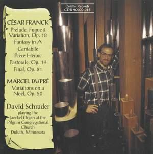 Organ Music by Franck & Dupre