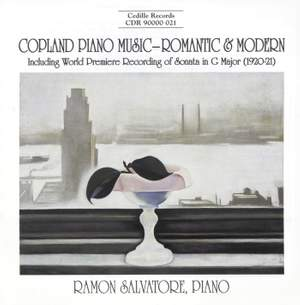 Copland Piano Music - Romantic & Modern