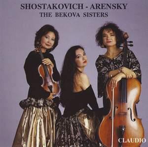 Shostakovich & Arensky: Piano Trios
